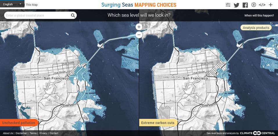 Surging Seas Risk Finderat Saving Our Planet