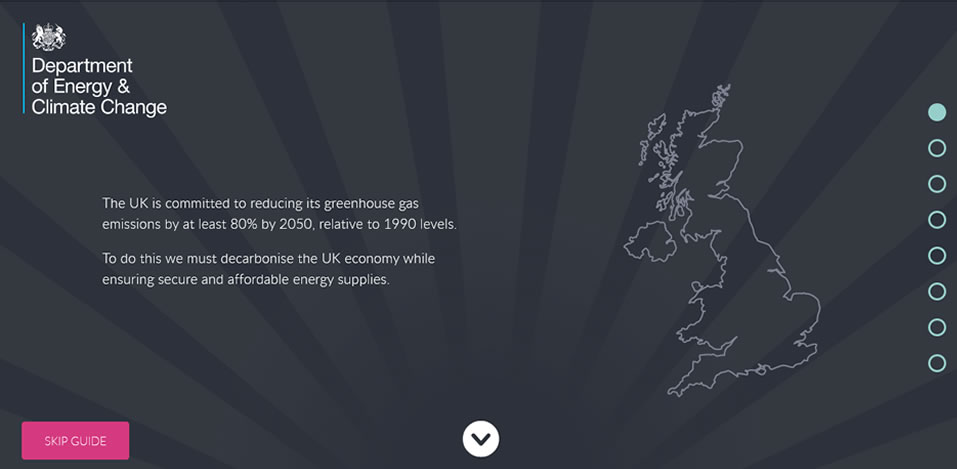 UK 2050 Energy Calculator at Saving Our Planet