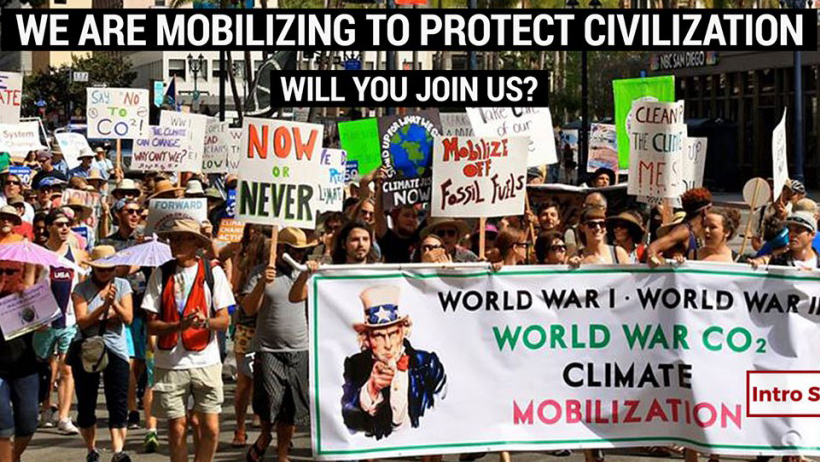 NY Mobilization link image at Climate Change Site